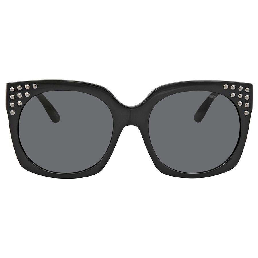 81d68ec6589cb ... Michael Kors Destin Grey Solid Ladies Sunglasses 0MK2067 300987 56 ...