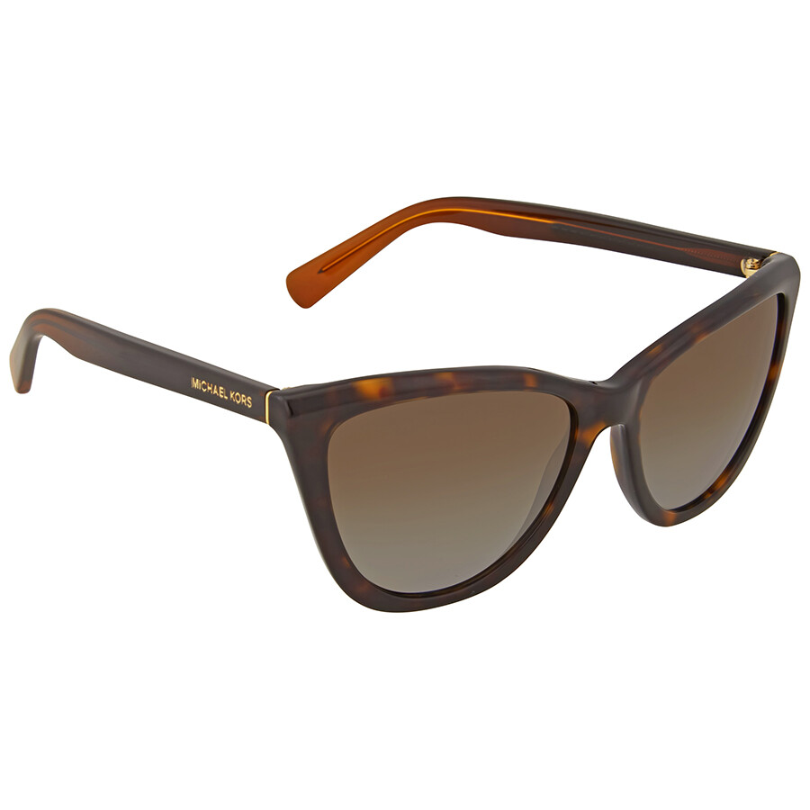 a316689a43bb Michael Kors Divya Dark Tortoise Cat Eye Sunglasses - Michael Kors ...