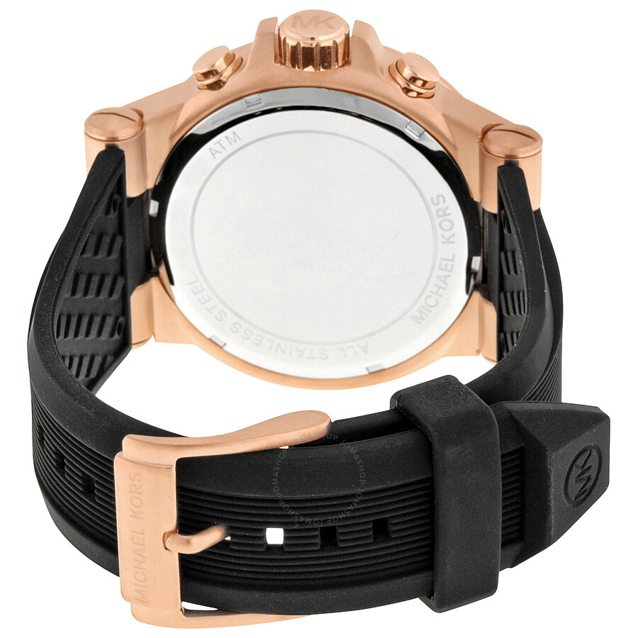 5fe6d8a11145 Michael Kors Dylan Chronograph Black Dial Men s Watch MK8184 - Dylan ...
