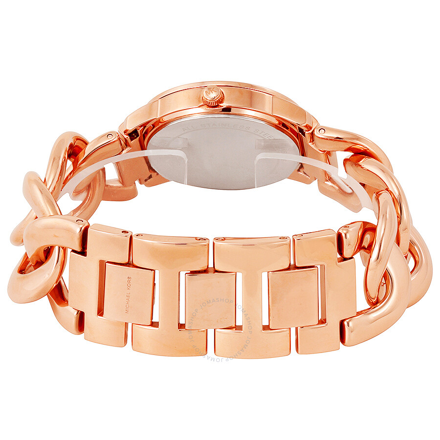 michael kors armband rose gold michael kors armband rose gold blush in gold lyst michael. Black Bedroom Furniture Sets. Home Design Ideas