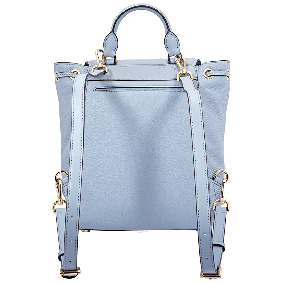 ecaa739f9d2ba0 Michael Kors Evie Small Flower Garden Backpack- Pale Blue - Michael ...