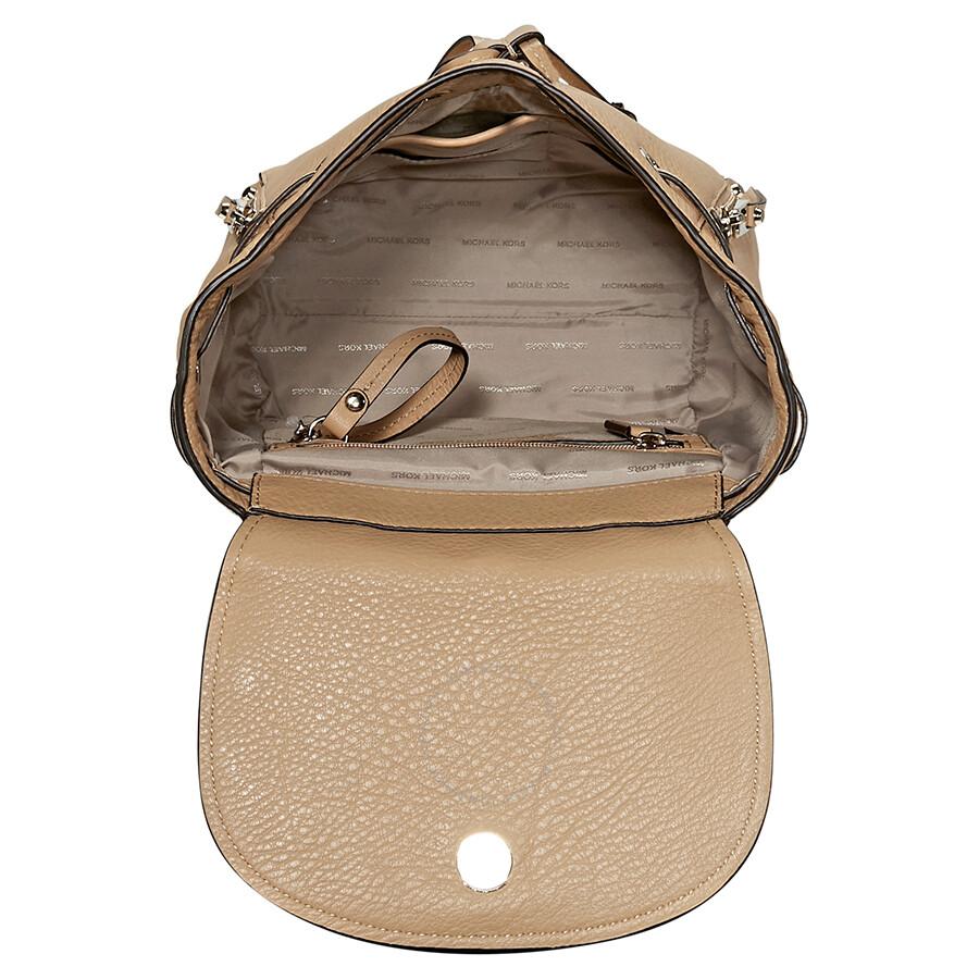 6f480b3247b7 Michael Kors Evie Small Flower Studded Backpack- Butternut - Michael ...