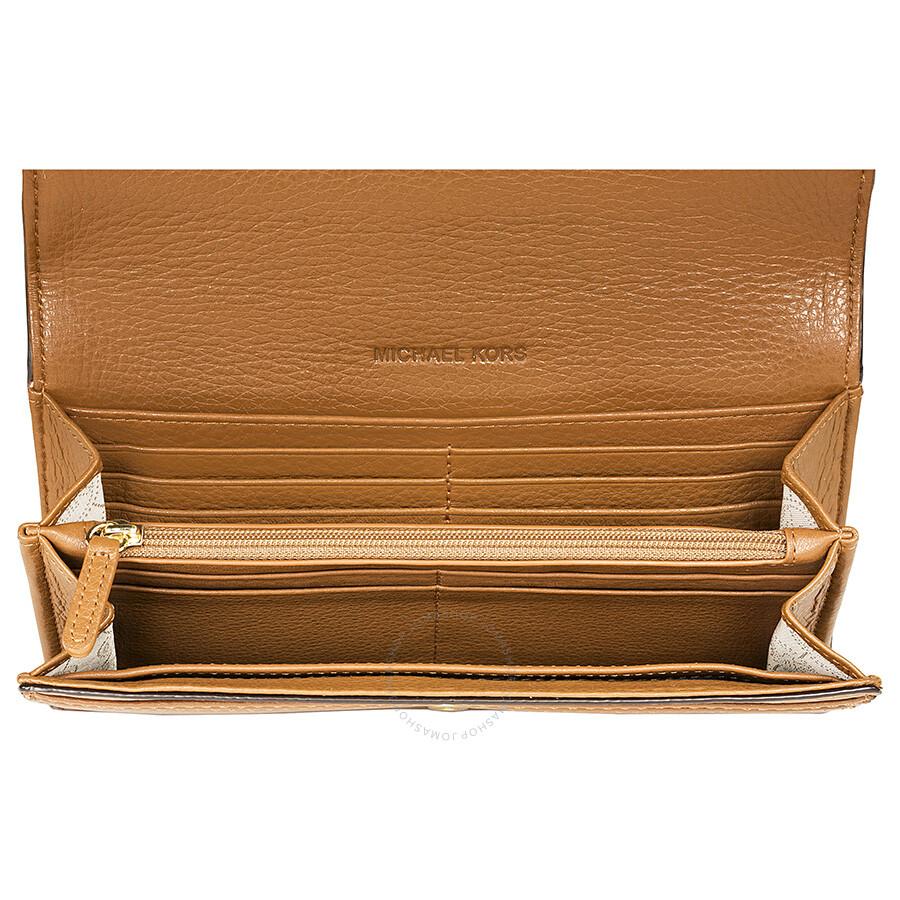 3fc4f6d88c8a Michael Kors Fulton Carryall Wallet in Brown - Fulton - Michael Kors ...