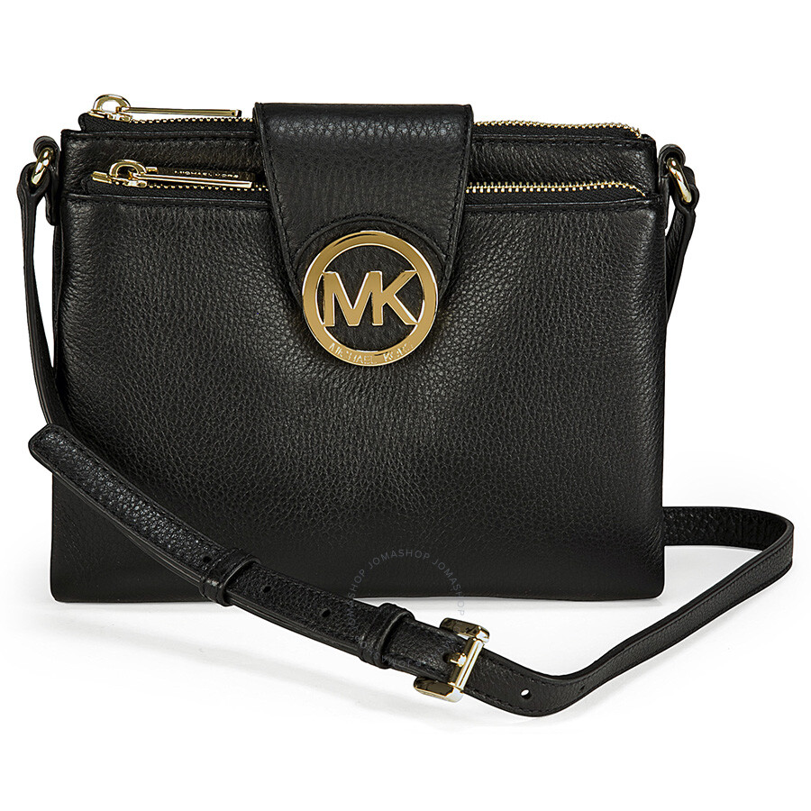 4f50c88e159c Michael Kors Fulton Large Crossbody in Black - Fulton - Michael Kors ...