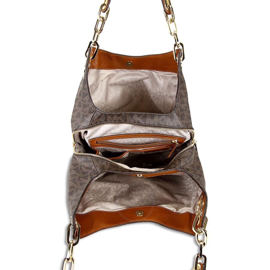 dab1e598121493 Buy michael kors fulton large logo shoulder bag > OFF35% Discounted
