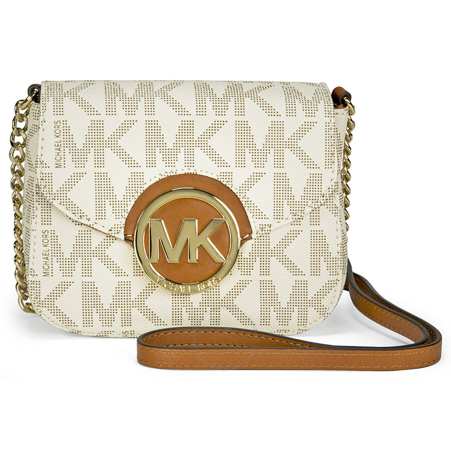 cf37e9638e3c0 Michael Kors Fulton Small Crossbody Bag - Vanilla Item No. 32T4GFTC1B-150