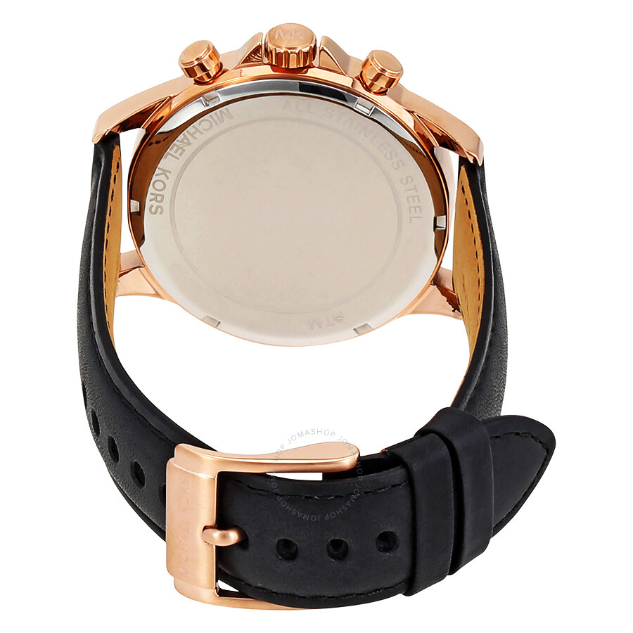 06ea2125dbd5 Michael Kors Gage Chronograph Black Dial Men s Watch MK8535 - Gage ...