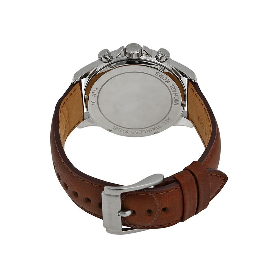 6fb8775899c3 Michael Kors Gage Chronograph Blue Dial Men's Watch MK8362 - Gage ...