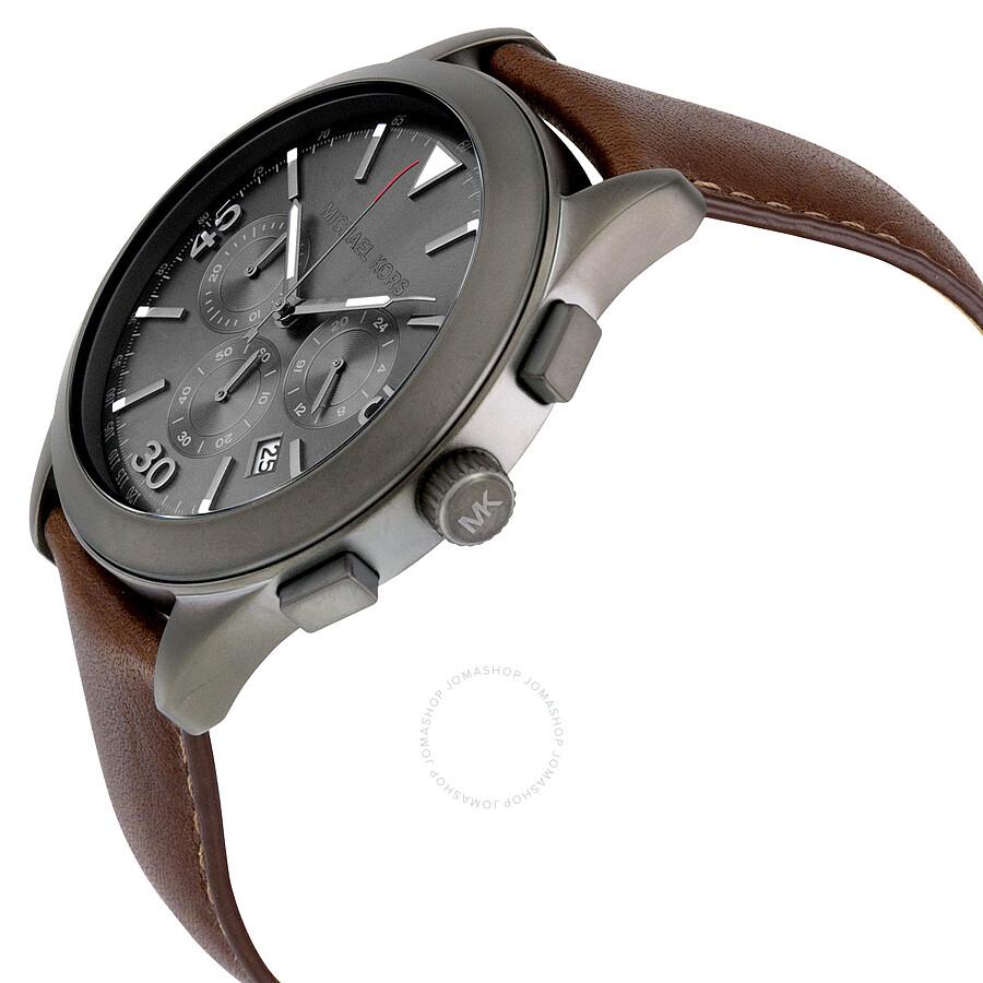 36380d7f35c1 ... Michael Kors Gareth Chronograph Grey Dial Men s Watch MK8471 ...