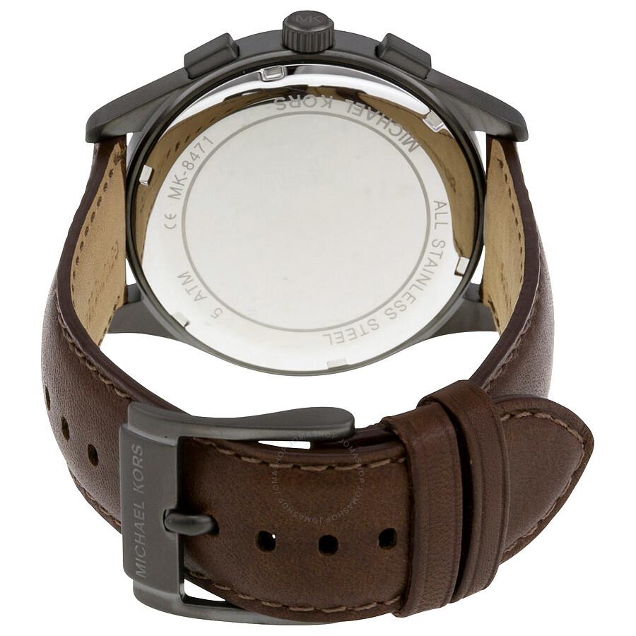 2de73d8d0c70 Michael Kors Gareth Chronograph Grey Dial Men s Watch MK8471 ...
