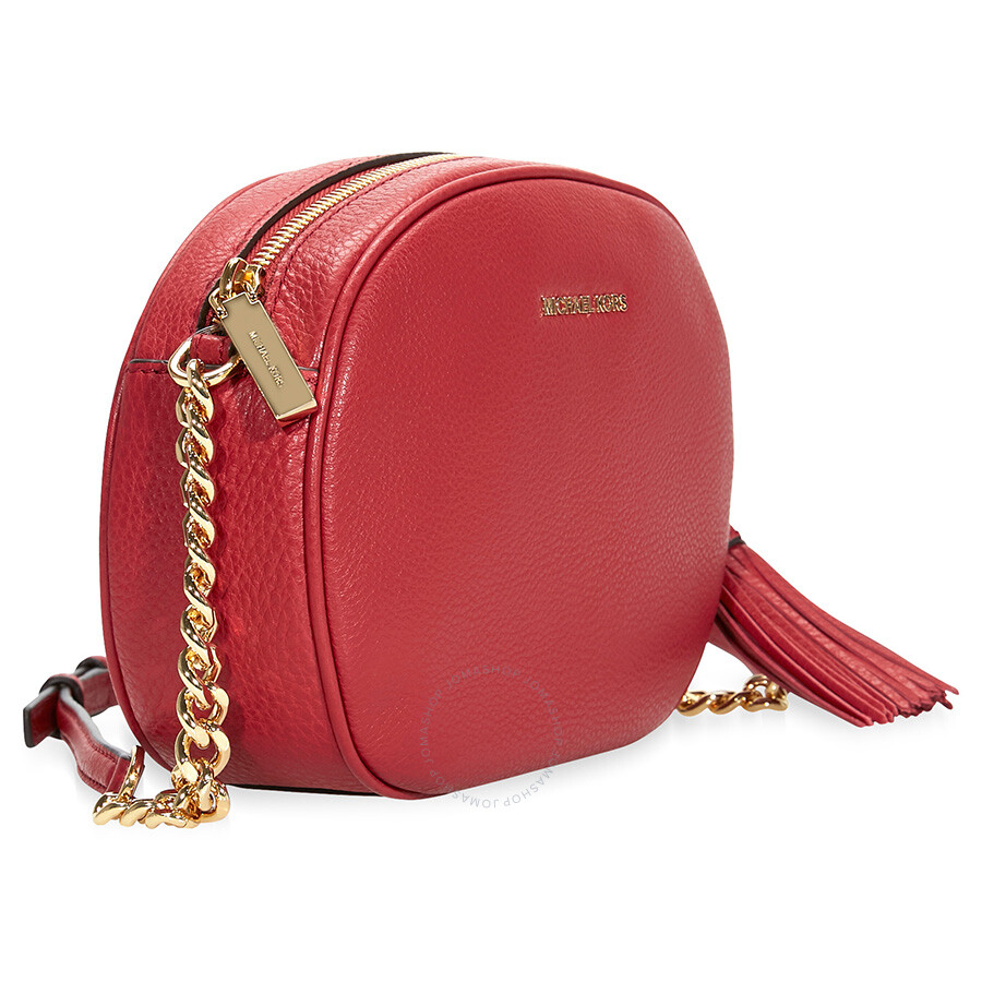 3b226baeee73 Michael Kors Ginny Medium Crossbody Bag - Burnt Red - Ginny ...