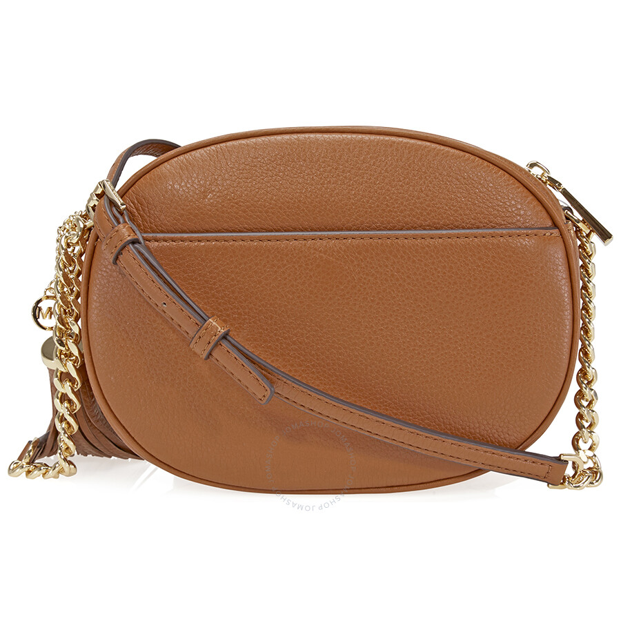 322641abeb82c Michael Kors Ginny Medium Crossbody Bag - Luggage - Ginny - Michael ...