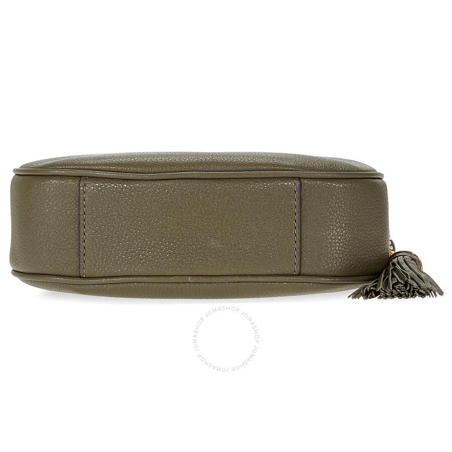 90c6f56133db Michael Kors Ginny Medium Crossbody Bag - Olive - Ginny - Michael ...