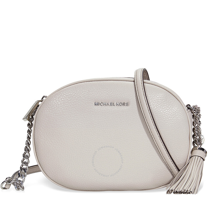 3d248dcbe343 Michael Kors Ginny Medium Crossbody Bag - Cement Item No. MK30H6SGNM2L-092