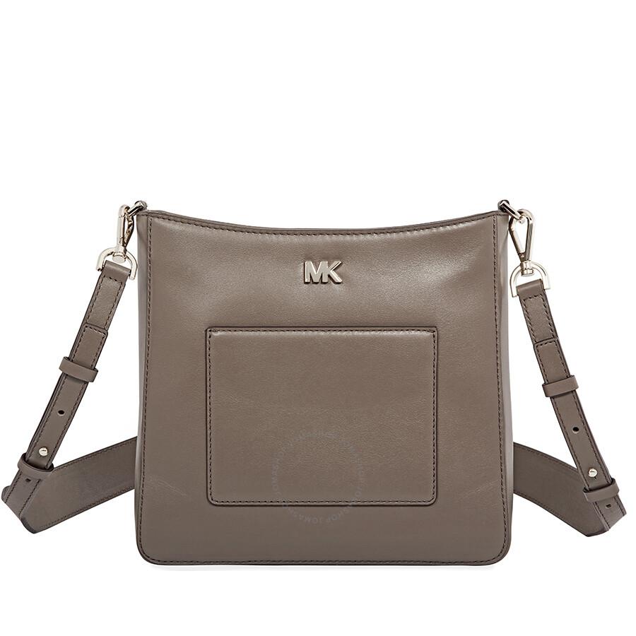 ba2239d285 Michael Kors Gloria Crossbody Bag- Mushroom - Michael Kors Handbags ...