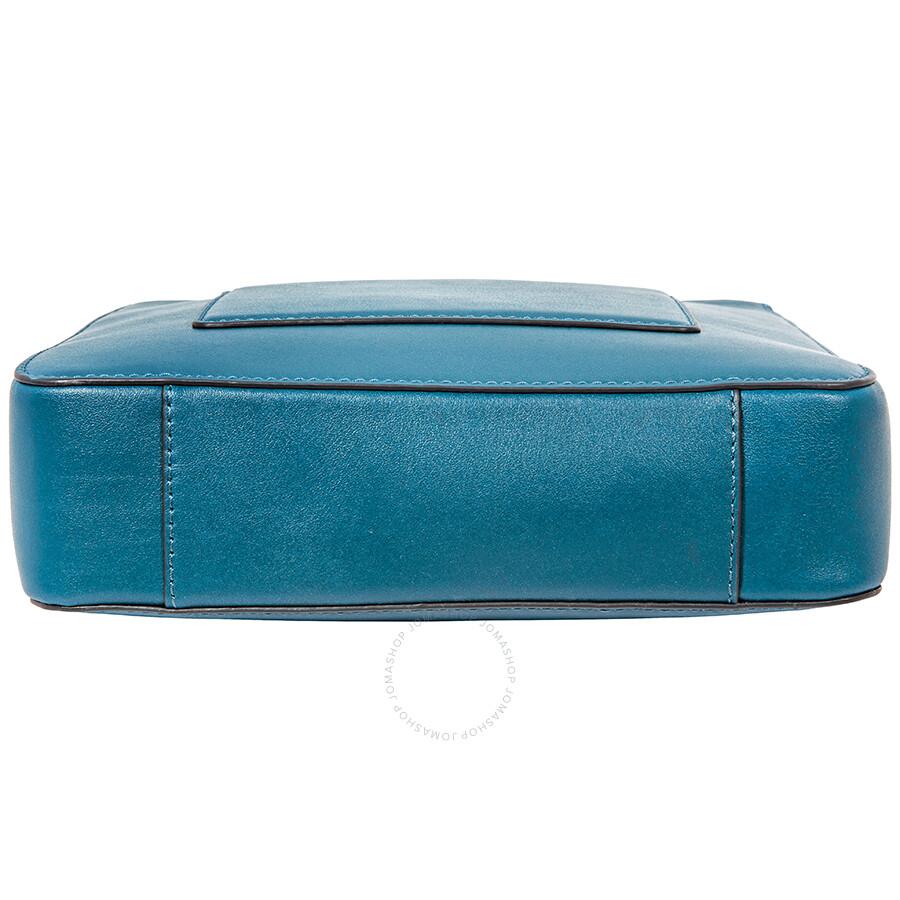 0f37a80280c5e9 Michael Kors Gloria Pocket Swing Pack Crossbody Bag- Teal - Michael ...