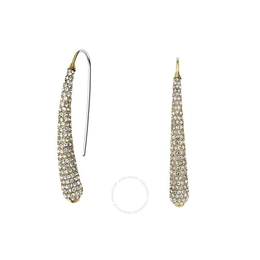 michael kors gold tone pave earrings mkj4027710