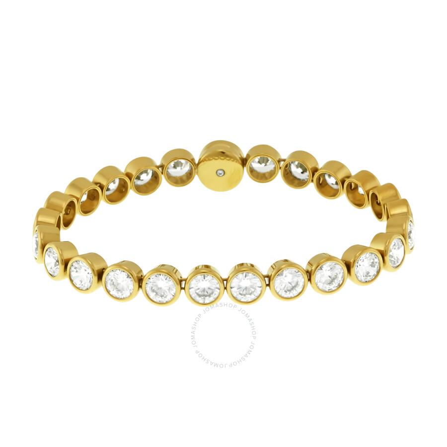 Michael Kors Gold Tone Cubic Zirconia Tennis Bracelet Mkj4791710