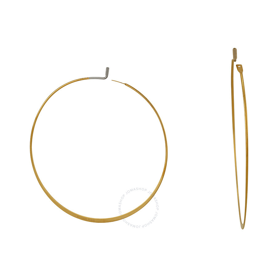 michael kors gold hoop earrings michael kors gold tone hoop earrings mkj1167710 michael 5674