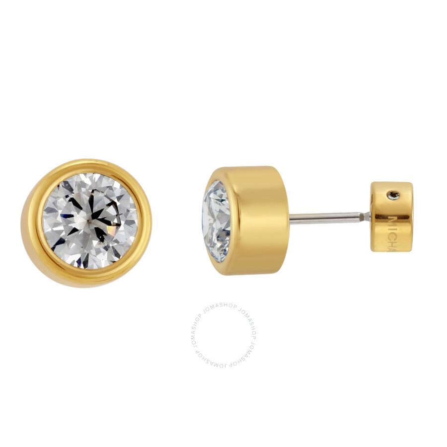 Michael Kors Gold Tone Stud Earrings Mkj4704710