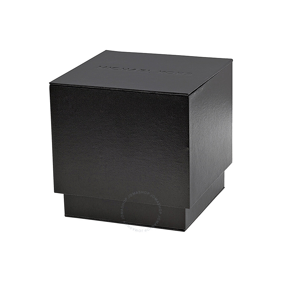 c300f8439798 ... Michael Kors Grandstand Chronograph Black Sandblasted Dial Black  Silicone Men s Watch MK8390