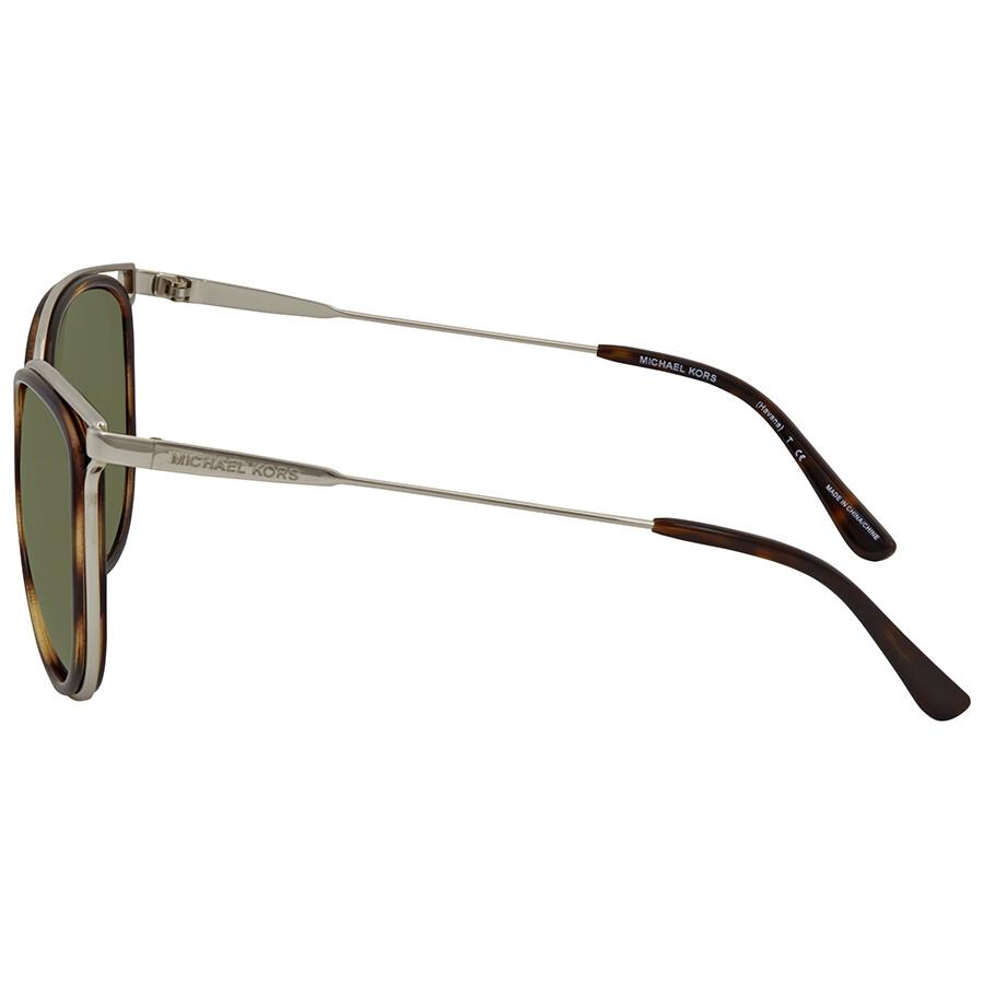 aab37c3f73 ... Michael Kors Green Round Sunglasses MK1025 120071 52
