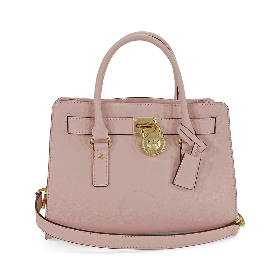 fe16d7c1cf93 Michael Kors Hamilton Saffiano Leather Medium Satchel in Blossom Item No.  30S2GHMS3L