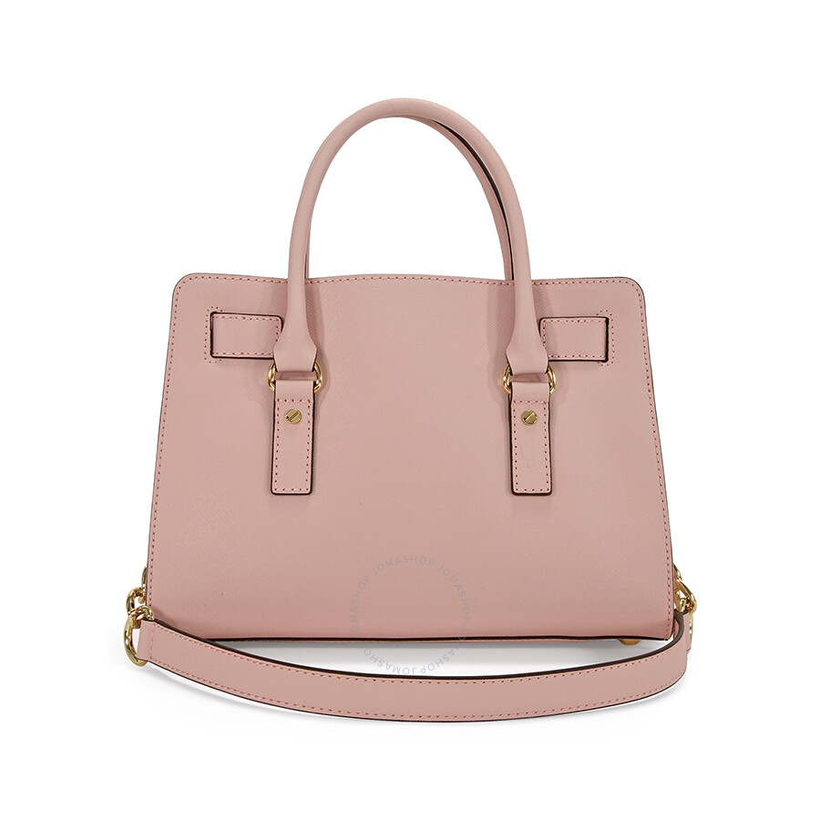 Michael Kors Hamilton Saffiano Leather Medium Satchel In Blossom