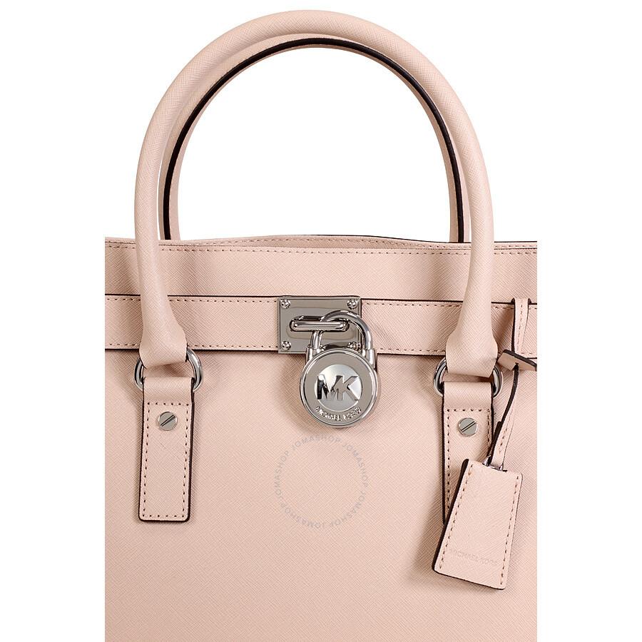 michael kors hamilton saffiano leather satchel ballet hamilton michael kors handbags. Black Bedroom Furniture Sets. Home Design Ideas