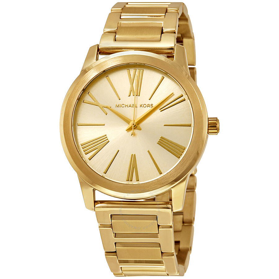 Michael kors hartman gold tone stainless steel ladies watch mk3490 hartman michael kors for Watches michael kors