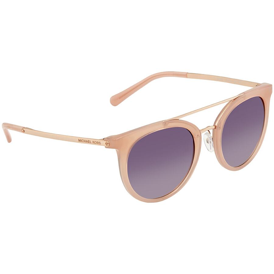 6ee3a4921a Michael Kors Ila Grey Rose Gradient Ladies Sunglasses MK2056 324636 50 ...