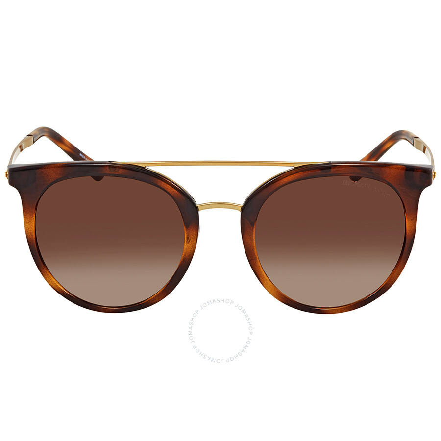3abe50ae39 ... Michael Kors Ila Smoke Gradient Round Ladies Sunglasses MK2056-327013-50  ...