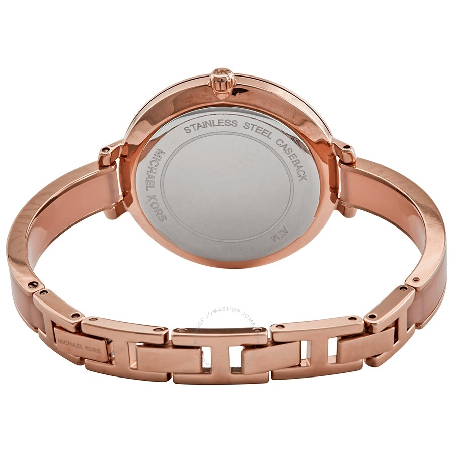 Michael Kors Jaryn Quartz Rose Gold Dial Ladies Watch Mk4343 Jaryn