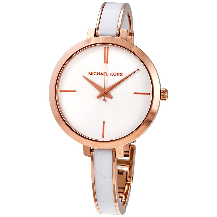 Michael Kors Jaryn Quartz White Dial Ladies Watch Mk4342 Jaryn