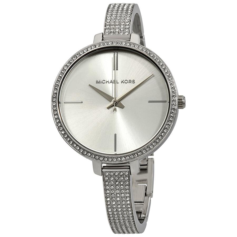 ac7f30dab1d6 Michael Kors Jaryn Silver Dial Ladies Watch MK3783 - Jaryn - Michael ...