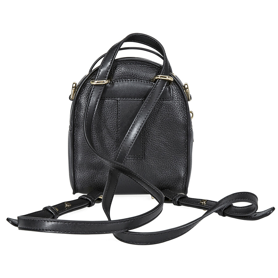 3fbf70a873ba Michael Kors Jessa XS Convertible Backpack- Black - Michael Kors ...