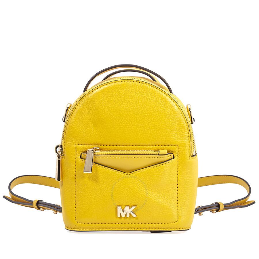 4e9769af8338 Michael Kors Jessa XS Convertible Backpack- Sunflower Item No.  30T8GEVB0L-719