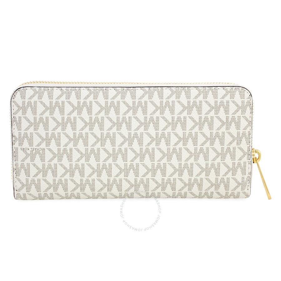 5f5cc57845df Michael Kors Signature Wallet Vanilla - Best Photo Wallet ...