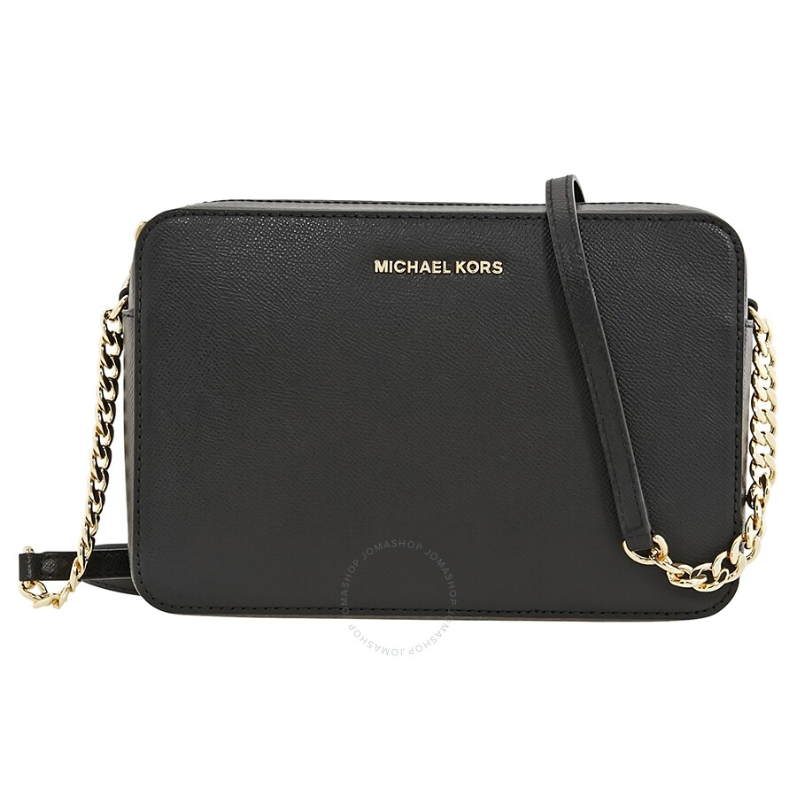 4988c51e2df6 Michael Kors Jet Set Crossbody Bag Large Crossbody - Black Item No.  32S4GTVC3L-001