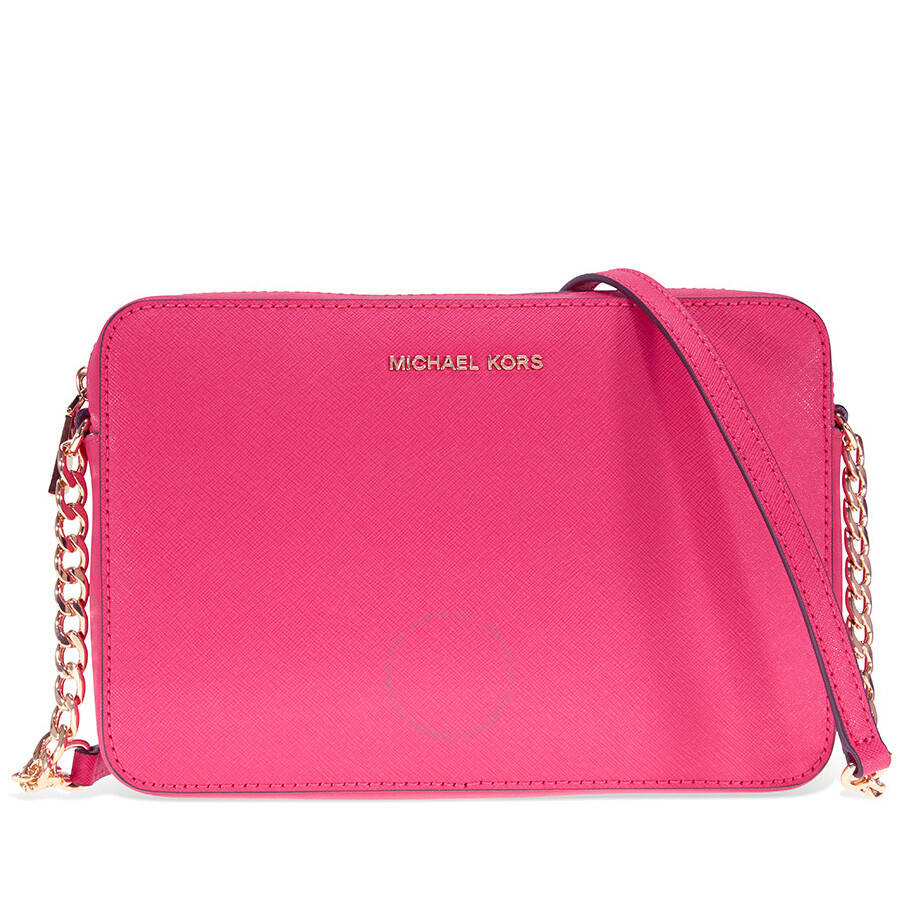 87bbe06a5261 Michael Kors Jet Set Crossbody Bag Large Crossbody - Ultra Pink Item No.  32S4GTVC3L-564
