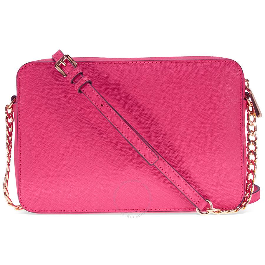 857d3dc4ddba Michael Kors Jet Set Crossbody Bag Large Crossbody - Ultra Pink ...