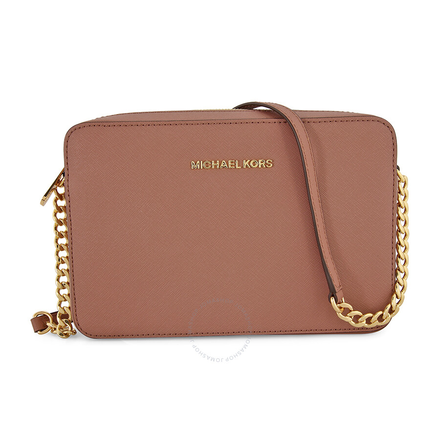 michael kors jet set crossbody dusty rose jet set michael kors rh jomashop com