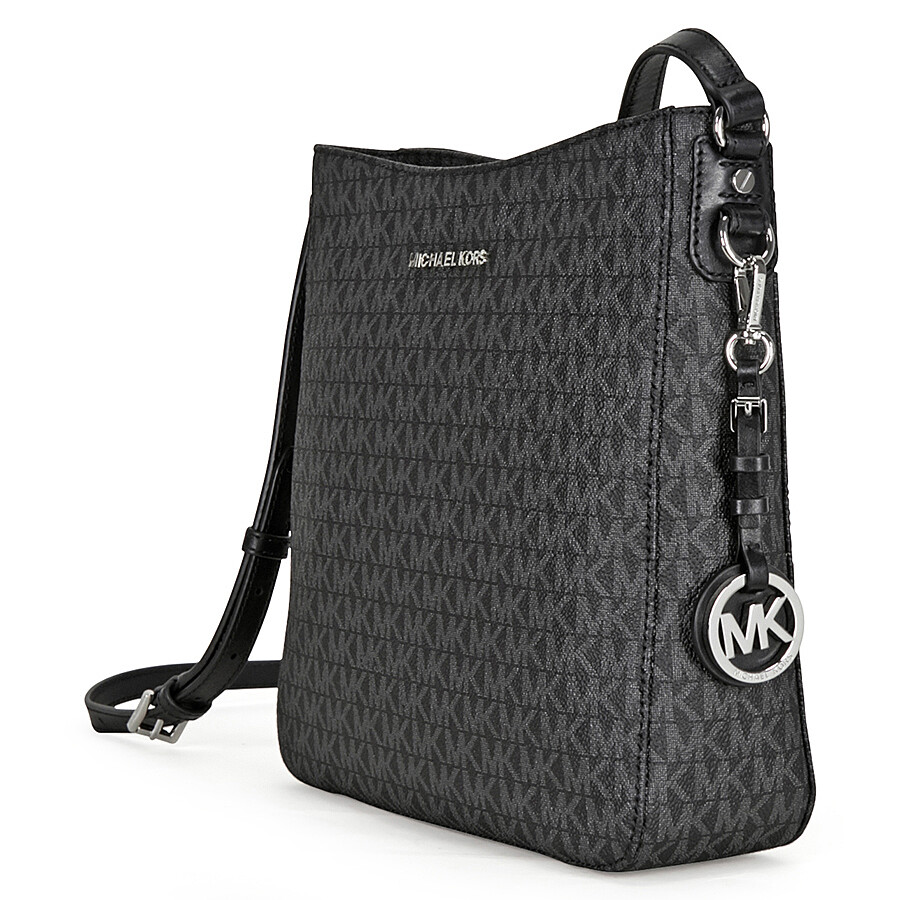 Michael Kors Jet Set Large Messenger Bag - Black - Jet Set ...