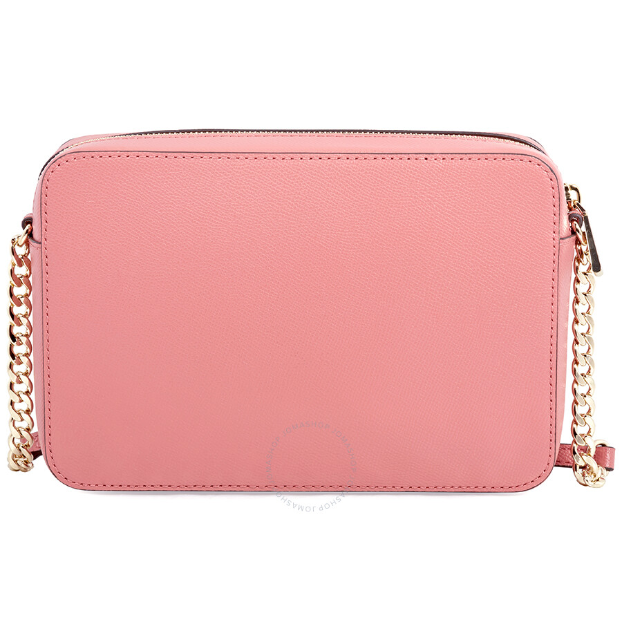 395fa348cdecc Michael Kors Jet Set Large Saffiano Leather Crossbody- Rose - Jet ...