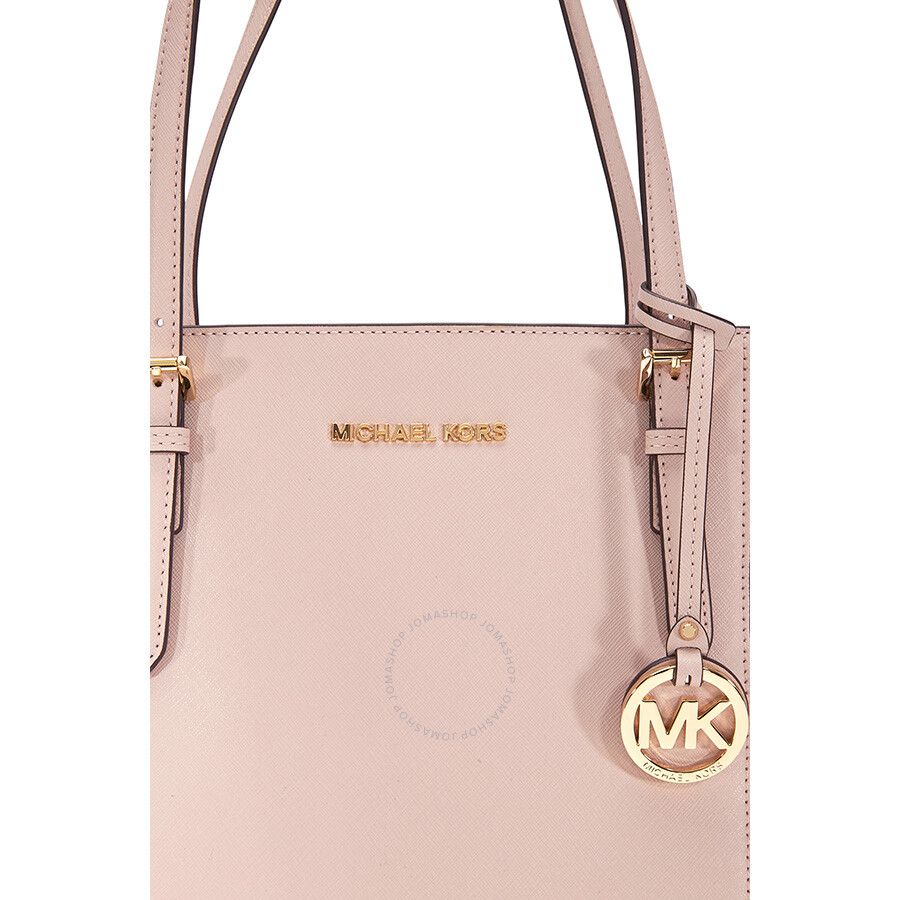 4044f2533d09 Michael Kors Jet Set Large Saffiano Leather Tote- Soft Pink - Jet ...