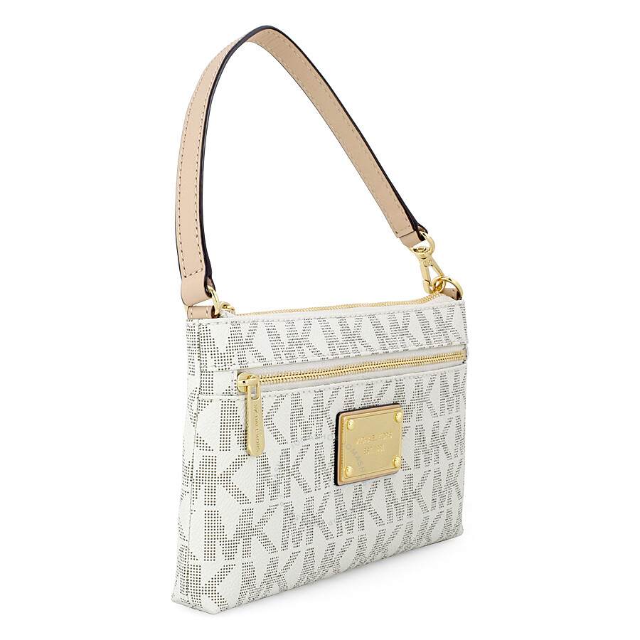 3a6eb187eaa3 Michael Kors Jet Set Large Wristlet in Vanilla - Cream - Jet Set ...