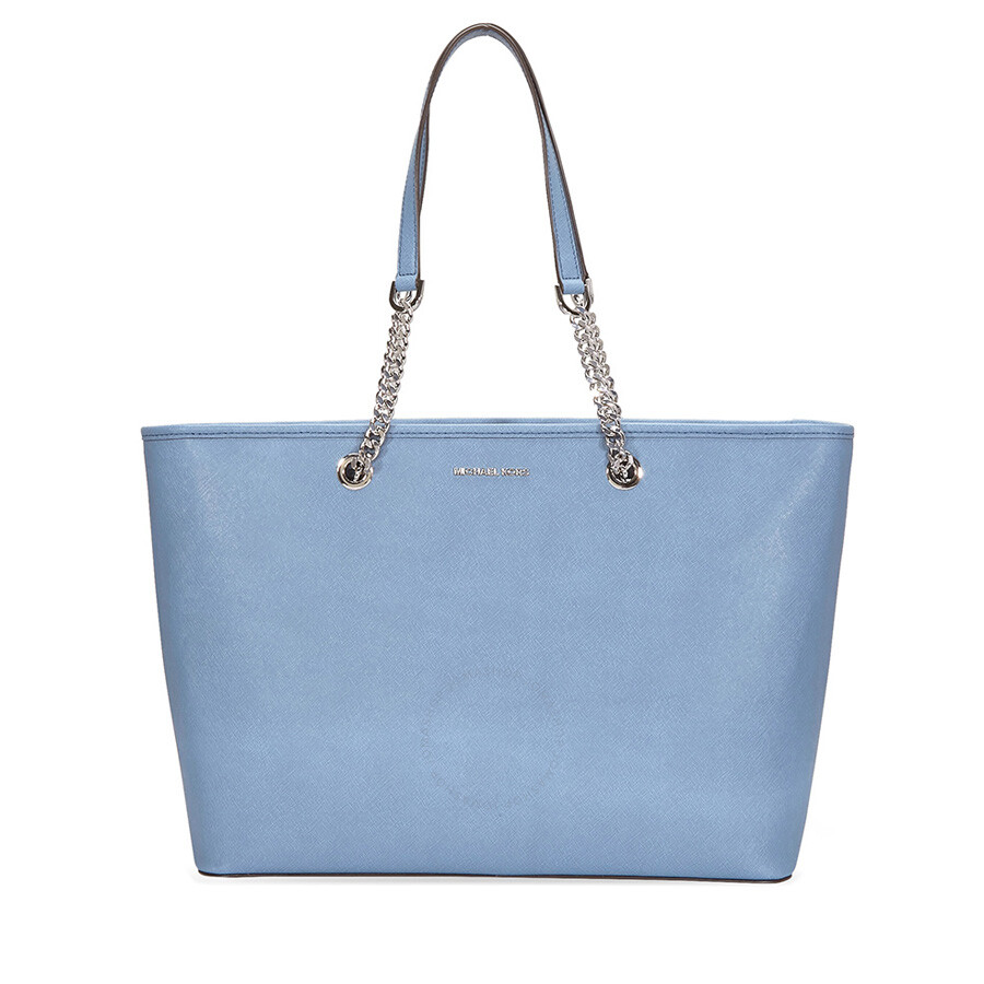 0ff330681c6d Michael Kors Jet Set Saffiano Leather Tote - Denim - Jet Set ...