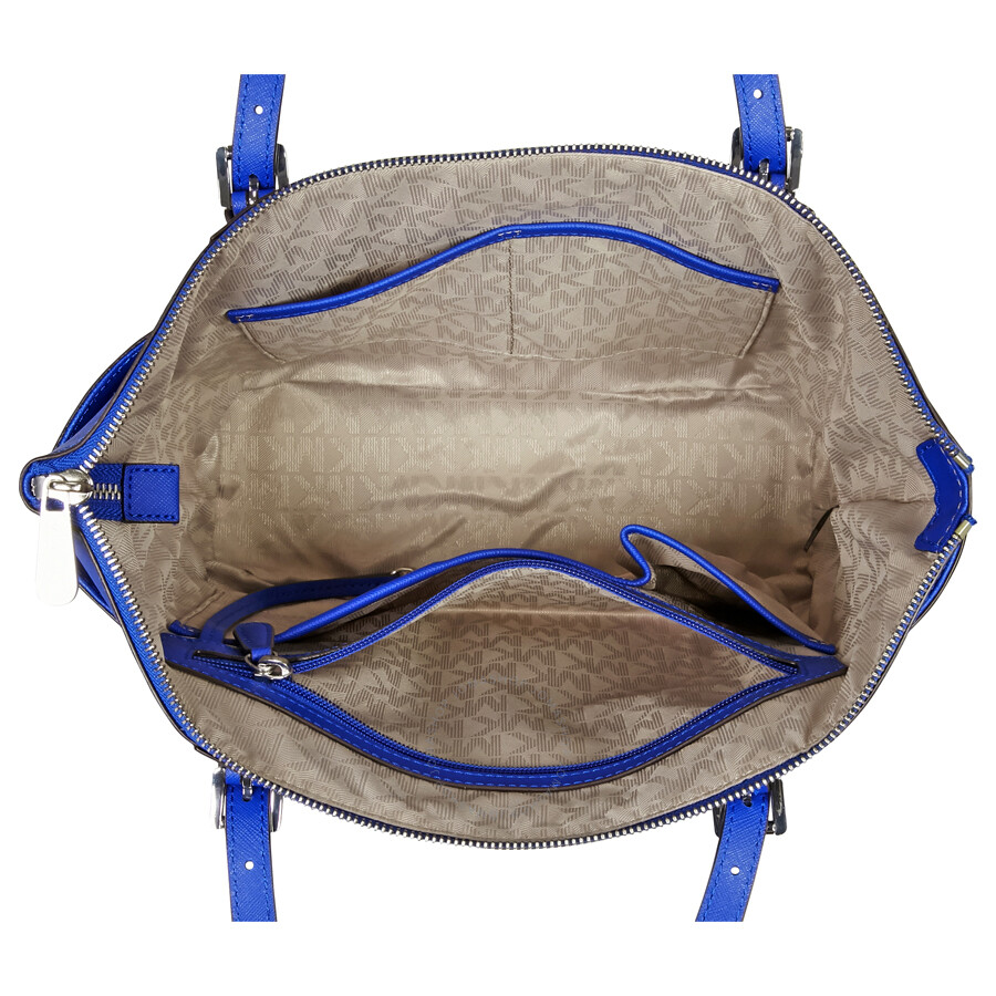 cdfe2a77b04c Michael Kors Jet Set Saffiano Leather Tote - Electric Blue - Jet Set ...