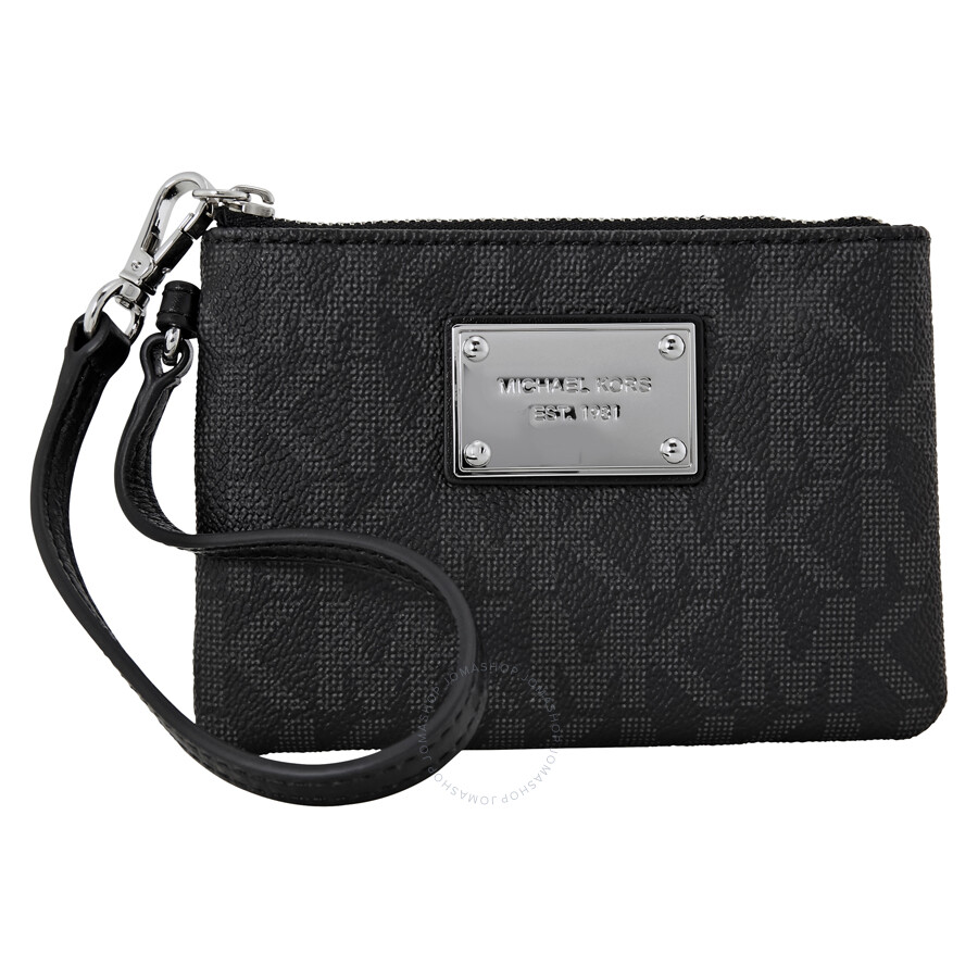 a24964438c0d Buy michael kors jet set small signature wristlet   OFF64% Discounted