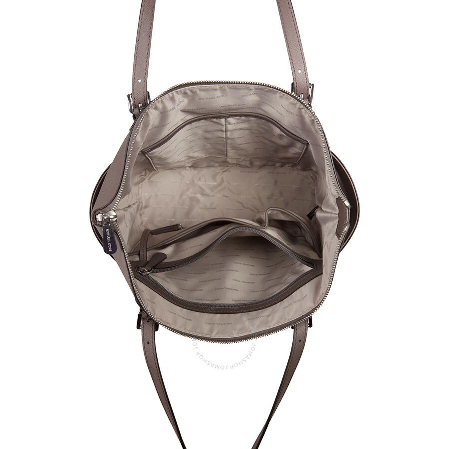 michael kors jet set top zip saffiano leather tote cinder jet set michael kors handbags. Black Bedroom Furniture Sets. Home Design Ideas